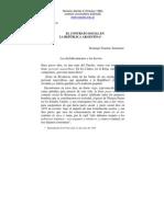 EL CONTRATO SOCIAL EN LA REPÚBLICA ARGENTINA