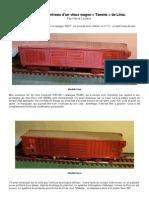 Modélisme ferroviaire à l'échelle HO. 11  Remise à niveau d'un vieux wagon «Tamms» de Lima. Par Hervé Leclère