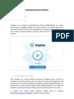 Guía básica de instalación y uso de DropBox