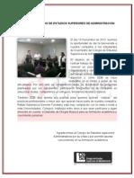 VISITA DEL COLEGIO DE ESTUDIOS SUPERIORES DE ADMINISTRACION