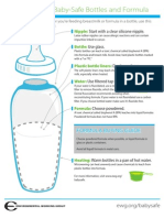 EWG's Guide to Baby-Safe Bottles and Formula