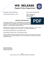 HOMICIDE VICTIMS IDENTIFIED