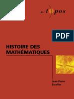 :histoire des mathématiques