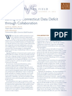 Solving the Connecticut Data Deficit through Collaboration