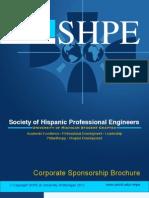 SHPE|UMICH Corporate Sponsorship Brochure