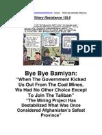 Military Resistance 10L9 Bye Bye Bamiyan
