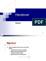 Handover Issue.ppt