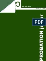 Vol. II No. 1 2010 Probation Junior