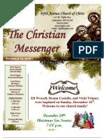 December 23 Messenger
