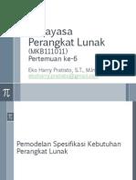 6- RPL - Pemodelan Spesifikasi Kebutuhan-ppt