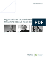 Organizaciones socio-ético sustentables: Un camino hacia un futuro distinto.
