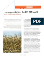 The Implications of the 2012 Food Drought and the Future of Food