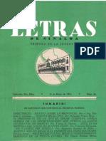 Letras de Sinaloa No. 25 Mayo de 1951