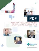 Ah s 2012 to 2015 Health Plan