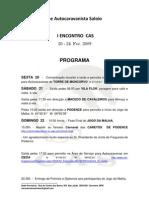 Microsoft Word - Programa I Encontro CAS