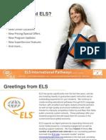 ELS 2013 newsletter