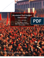 Revolution That Changed  China's Soul