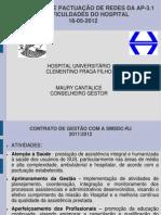 CDS-AP-3.1 - I SEMINÁRIO DE PACTUAÇÃO DE REDES DA AP-3.1