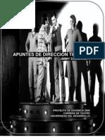 Manual de Dirección Teatral