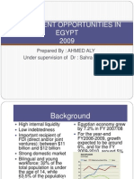 Investment Opportunities in Egypt (Final)