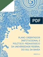 PLANO ORIENTADOR DA UNIVERSIDADE FEDERAL DO SUL DA BAHIA