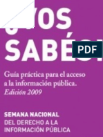 Guia de Acceso a la Información Pública (2009)