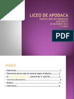 Liceo de Apodaca Marcelas Presentation