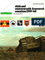 British And Commonwealth Armoured Formations 1919-46