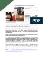 17-12-2012 Por primera vez, una comisión bilateral vigilará la transición estatal