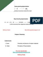 Chemistry of Polymer