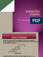 Biosintesis Steroid