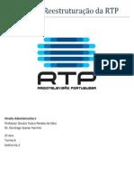 Projecto de Reestruturação da RTP