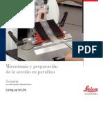 Manual de fijación y microtomia leica