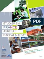 Etudes en France