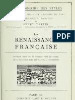 Henry Martin - La Renaissance Francaise