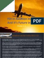 Fdi in Aviation (Im)