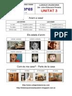 Unitat 3 - Gramàtica - Ortografia - Lèxic - Fórmules de contacte