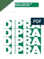DIPRA Hydraulic Analysis of DI Pipe
