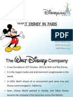 Walt Disney in Paris