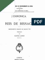 Crónica dos reis de Bisnaga - manuscrito inédito do século XVI publicado por David Lopes