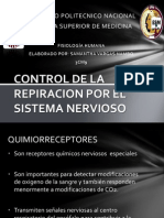 CONTROL DE LA RESPIRACION POR EL SISTEMA NERVIOSO