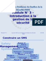 OACI SMS Module N° 3 – Introduction à La Gestion de La it 2008-11 (PF)