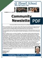 2012 T4 Newsletter