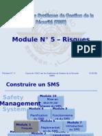 Oaci Sms Module n° 5 – Risques 2008-11 (Pf)