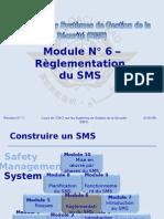 OACI SMS Module N° 6 – Règlementation Du SMS 2008-11 (PF)