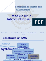 OACI SMS Module N° 7 – Introduction Au SMS 2008-11 (PF)