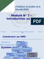 OACI SMS Module N° 7 – Introduction Au SMS 2008-11 (PF)