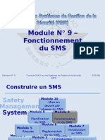 OACI SMS Module N° 9 – Fonctionnement Du SMS 2008-11 (PF)