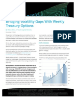 Bridging Volatility Gaps With Weekly Treasury Options | CMEGroup