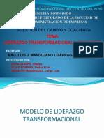 PPT - LIDERAZGO TRANSFORMACIONAL